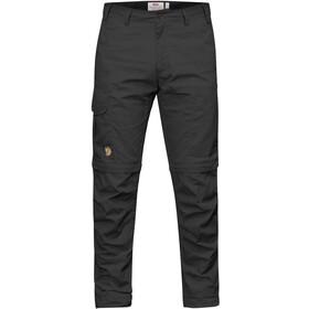 Fjällräven Karl Pro Pantalones Zip-Off Hombre, dark grey